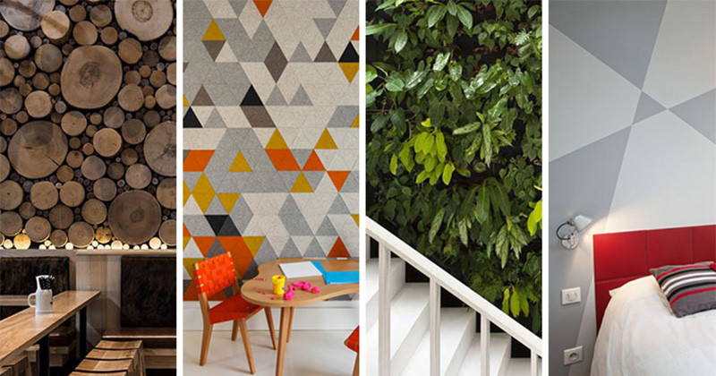 13 Inspirational Ideas For Fun Feature Walls