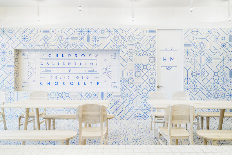 See how using simple graphic tiles can have a powerful design impact