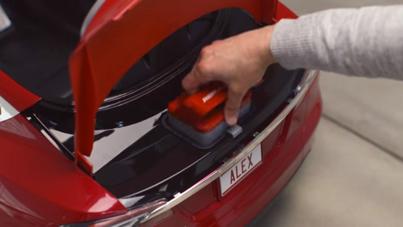 The Tesla Model S for Kids by Radio Flyer