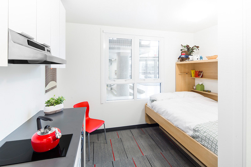 this 140 square foot micro apartment is a prototype for