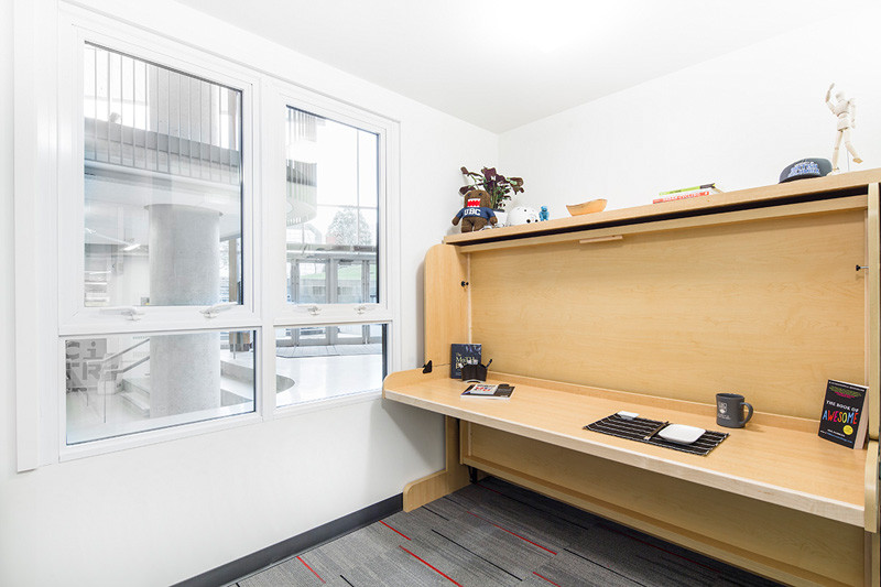 This mini-suite is a prototype for student housing