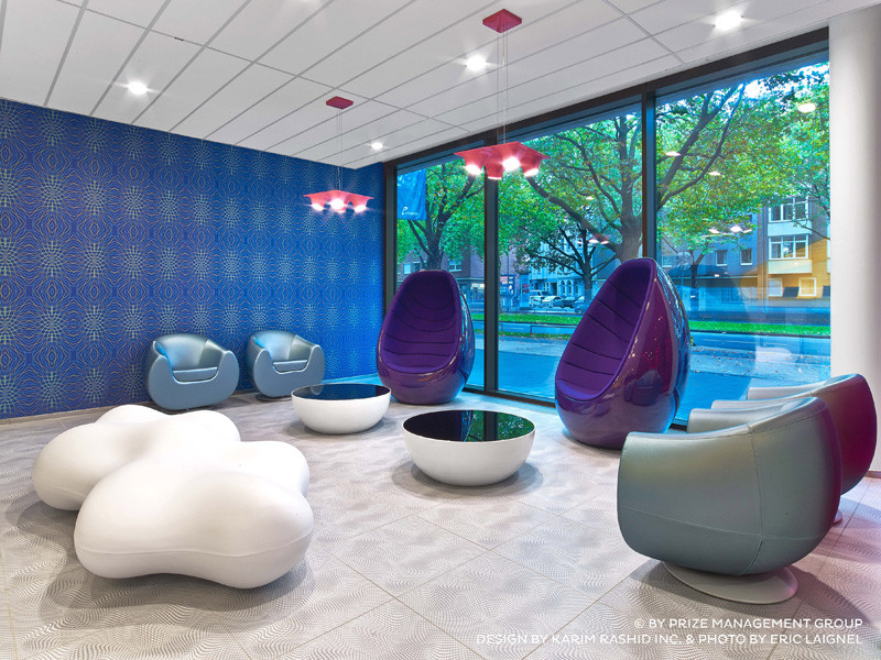 25 colourful photos of the prizeotel Hanover, designed by Karim Rashid