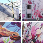 See how this large mural in Vancouver got painted