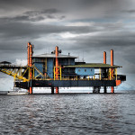 You can stay at this converted oil rig in Malaysia and go diving