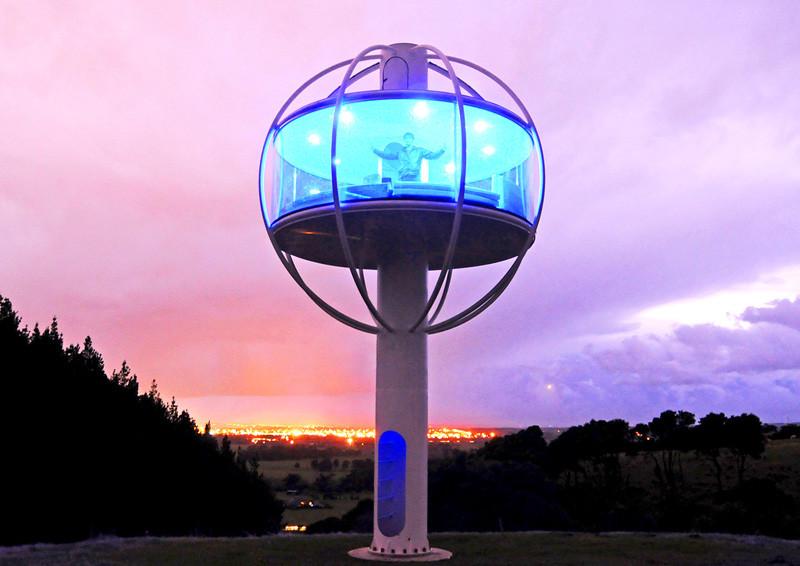The Skysphere, designed by Jono Williams