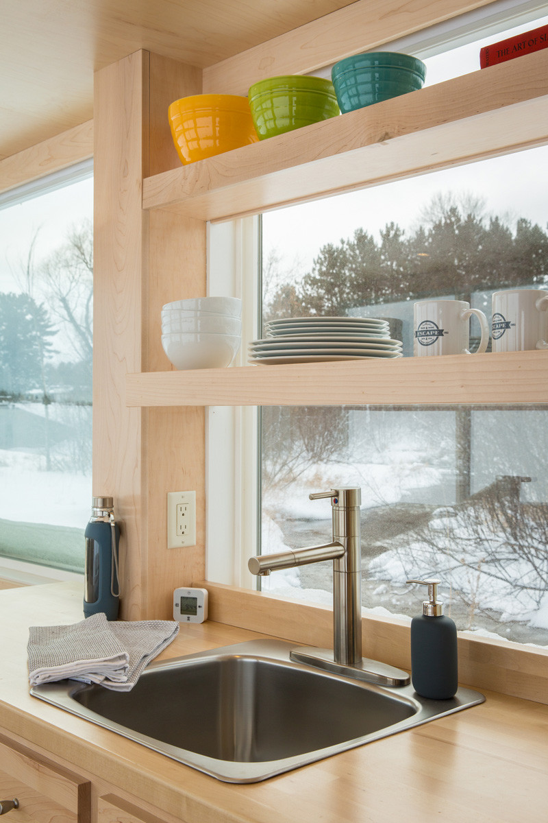 This tiny home is just 160 square feet