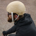 This new bike helmet is made from wood