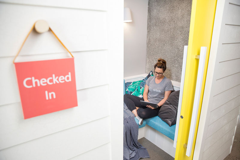 Take a tour of the new Airbnb offices in Sydney