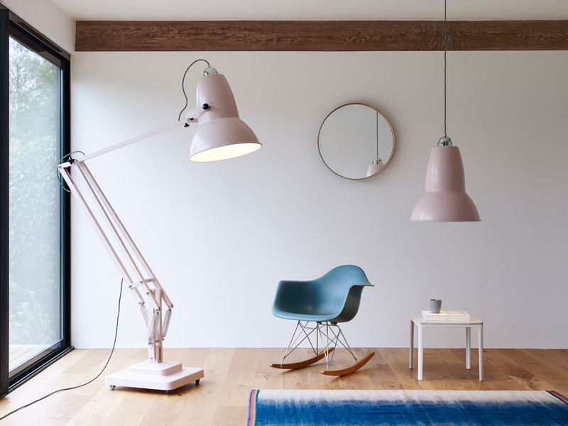 These oversized Anglepoise lamps definitely make a statement