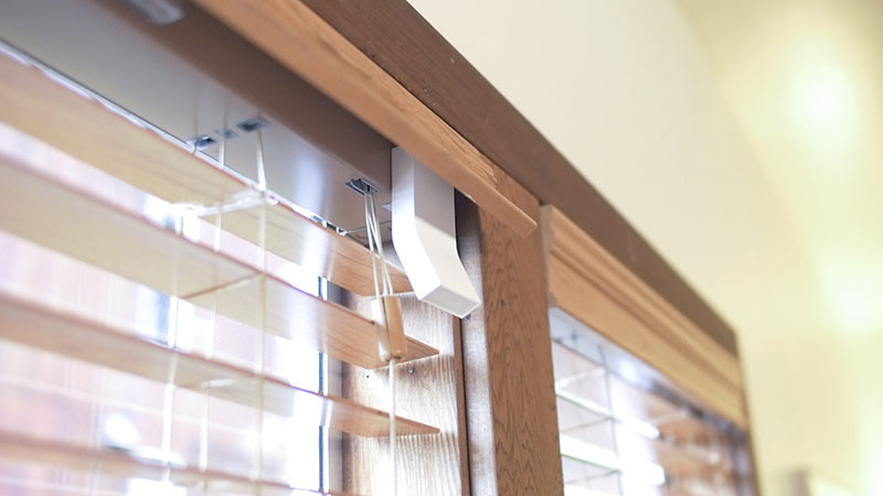 This little device lets you turn your blinds into smart blinds