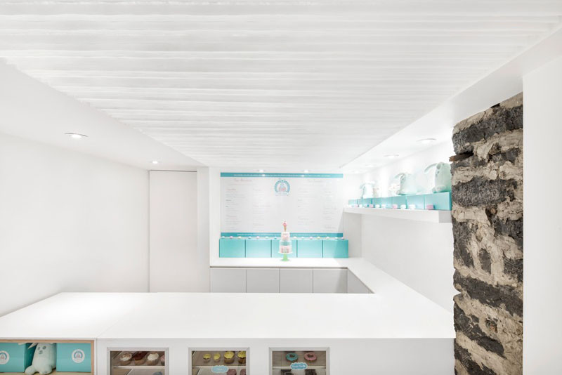A 342 square foot bakery is hidden in the basement of a building in Quebec