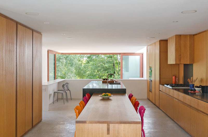 The Bala Line House, located in Toronto, Canada, and designed by Williamson Chong Architects.