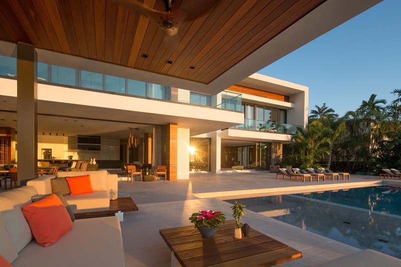 Casa Clara, located in Miami, and designed by Choeff Levy Fischman Architecture + Design