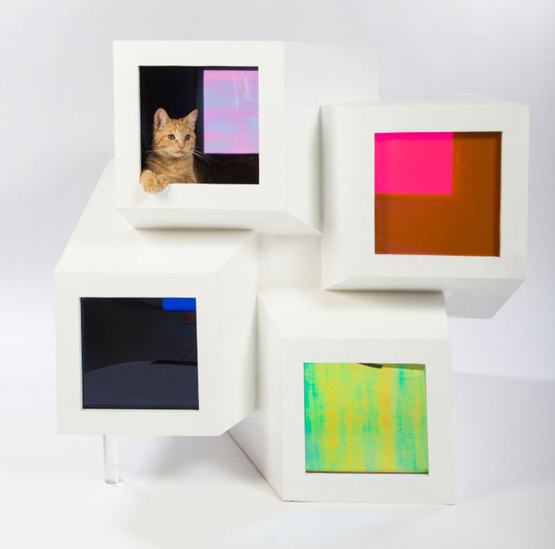 12 Los Angeles Architecture Firms Have Designed Cat Shelters For Charity