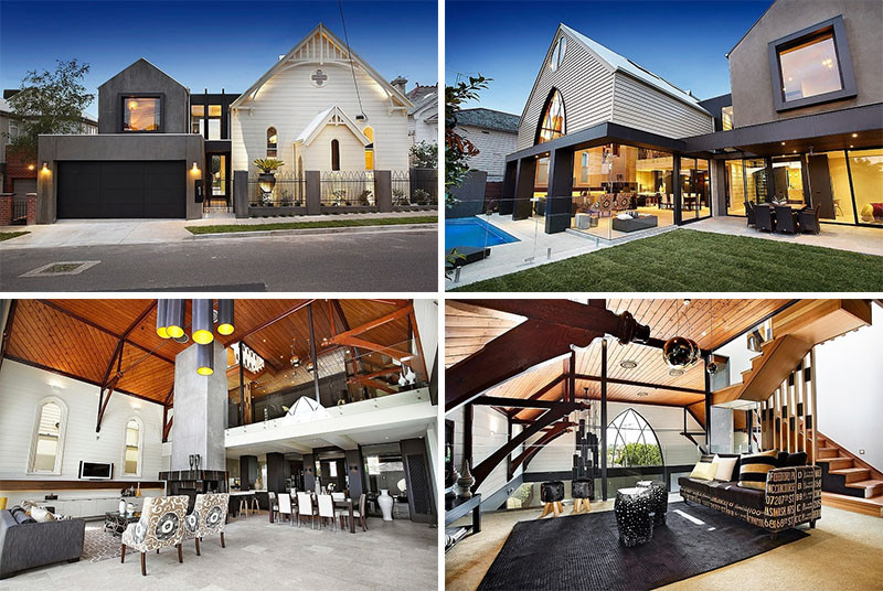 8 Awesome Examples Of Churches That Have Become Contemporary Homes