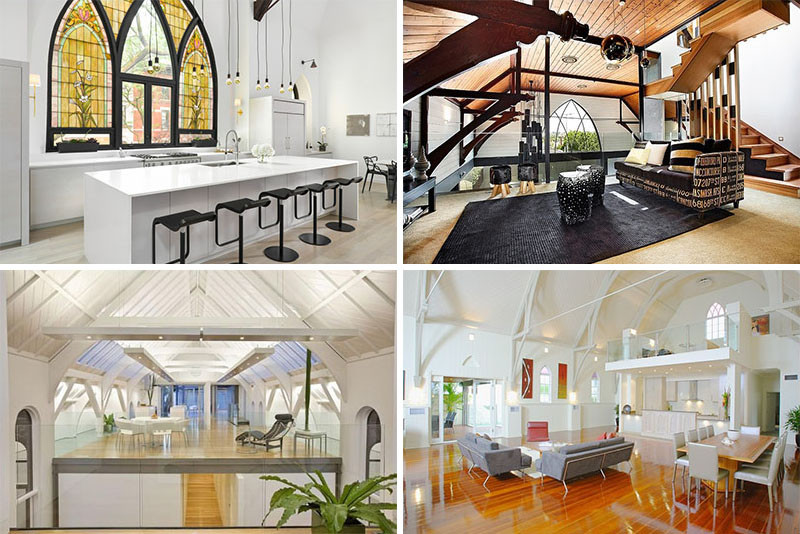8 Examples Of Churches That Have Been Converted Into Contemporary Homes