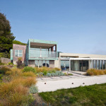 This house is at home in the coastal hills north of San Francisco
