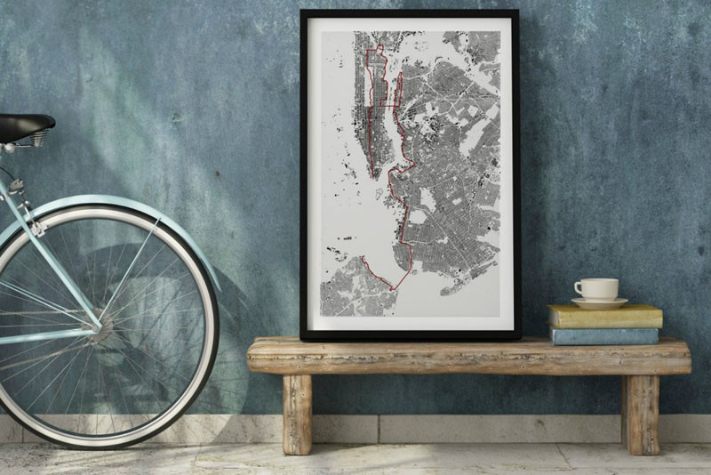 Vintage You can now turn your running or cycling path into artwork