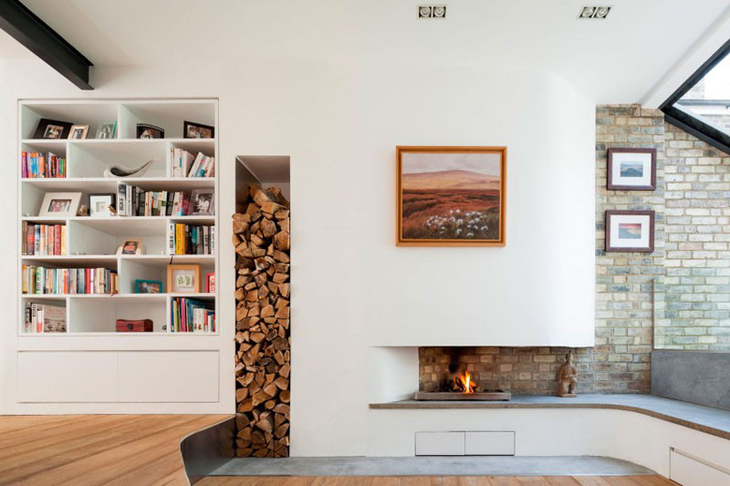 14 Inspiring Solutions For Storing Firewood In Your Home