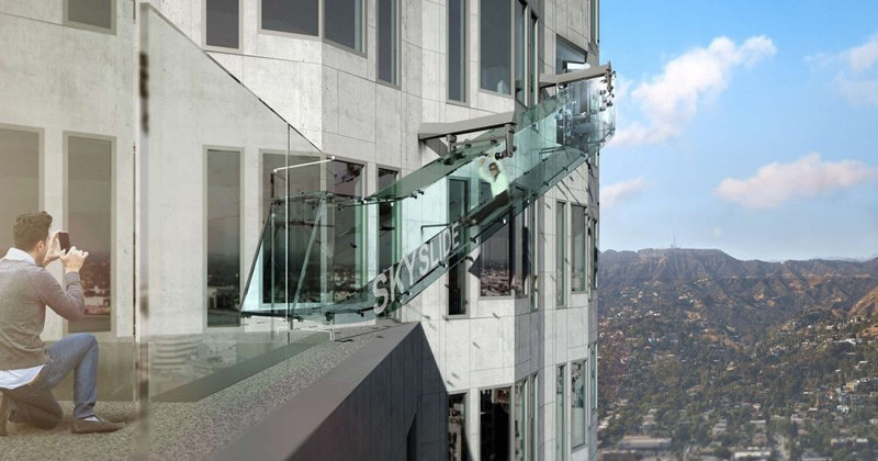 This Crazy Glass Slide Will Be Opening In Los Angeles Later This Year
