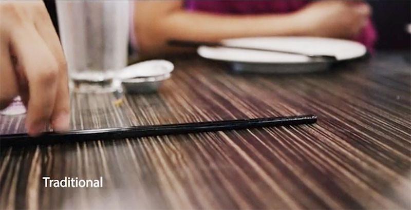 Gravity Chopsticks by Dang Tran