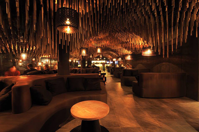 Hookah Bar Nargile in Sofia, Bulgari, and designed by KMAN Studio.