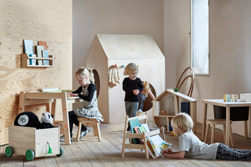 Ikea is introducing a new family of children s furniture for Box bimbi ikea