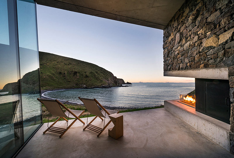 A private seaside getaway on the shores of the New Zealand coast
