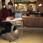This new desk is designed to be portable and pop-up wherever you need one