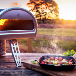 A new oven has been designed to cook wood fired pizza anywhere