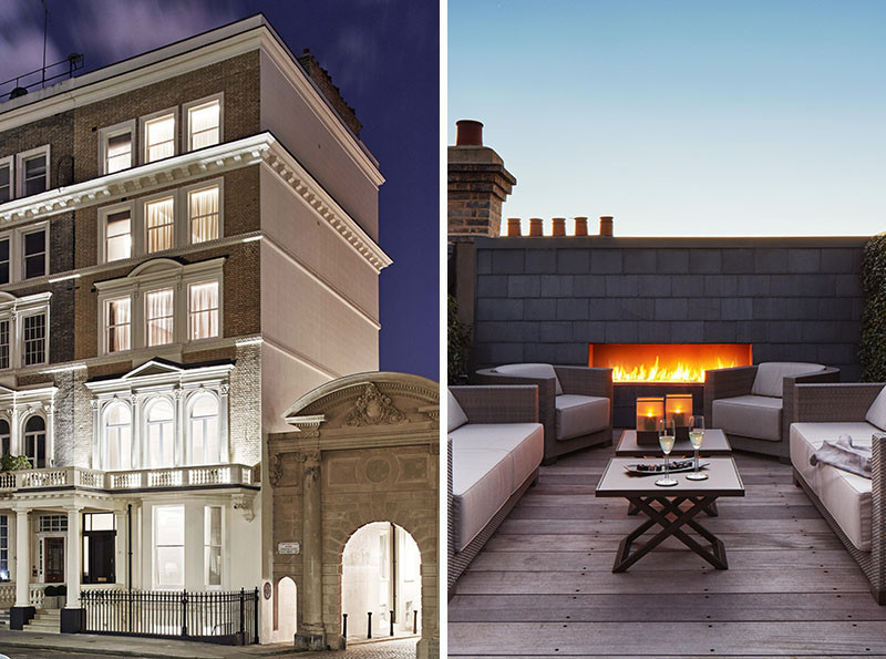 A private getaway is hiding on the top of this London terrace house