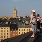 There's a company in Stockholm that does rooftop walking tours