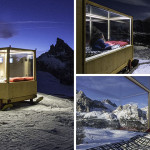 This super tiny cabin lets people sleep in the mountains under the stars
