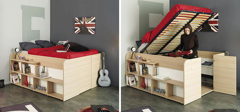 These bed/closet combinations are a good design option for ...