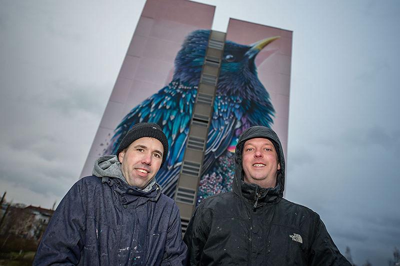 The Starling, by Collin van der Sluijs and Super A