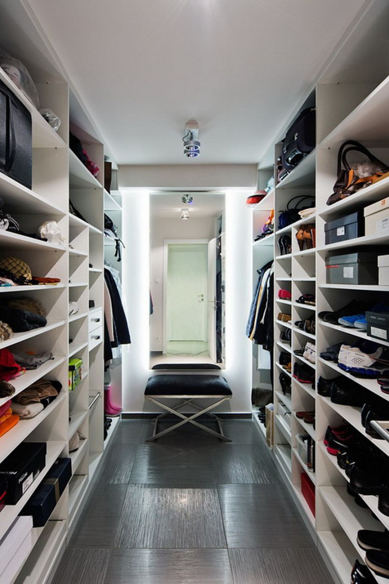 15 Examples Of Walk In Closets To Inspire Your Next Room
