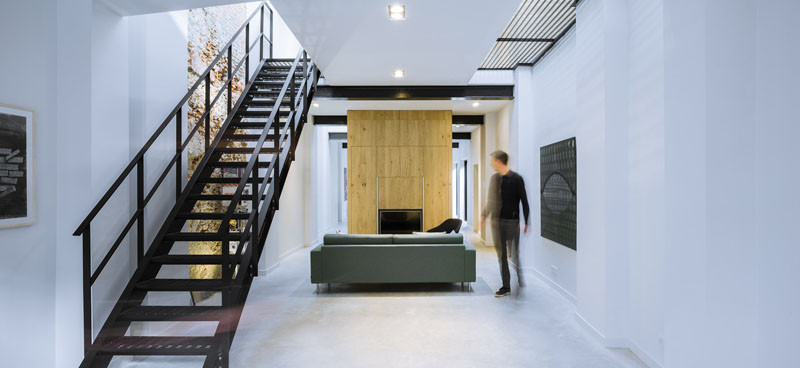 This Dutch Office/Warehouse Was Transformed Into A Bright Minimalist Home
