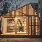 This writer's shed was designed to be a quiet haven in the big city