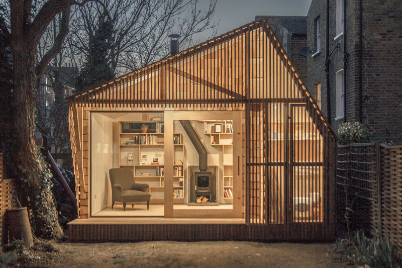 This writer?s shed was designed to be a quiet haven in the big city