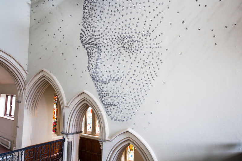 'For all time', an installation by Steven Follen