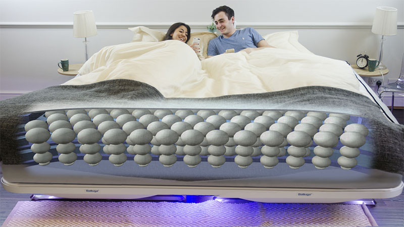 Balluga, a smart interactive bed, designed by Joe Katan