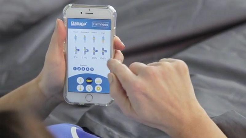 Balluga, a smart interactive bed, designed by Joe Katan