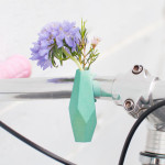 Decorate your bike this spring with cute little flower vases