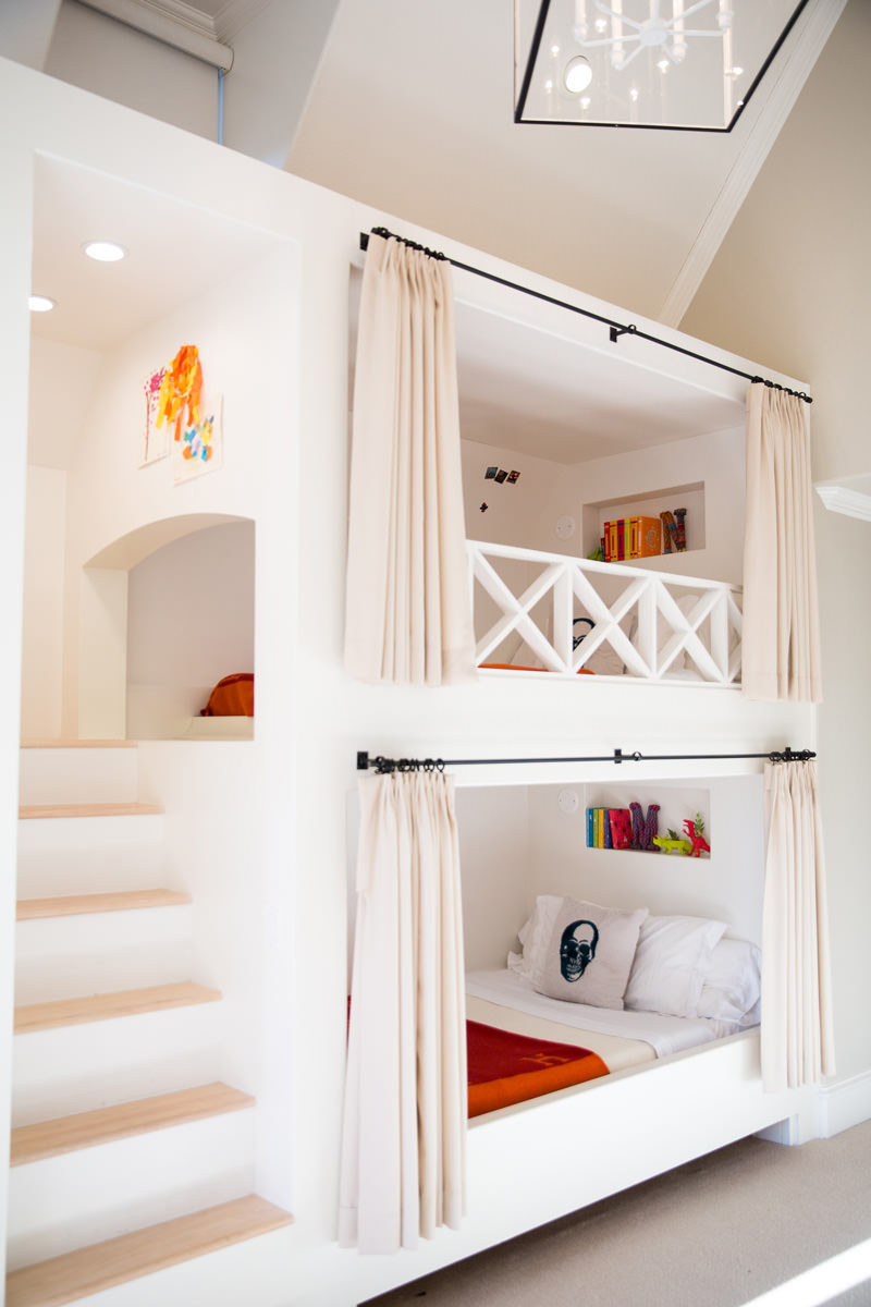 12 Inspirational Examples Of Built In Bunk Beds