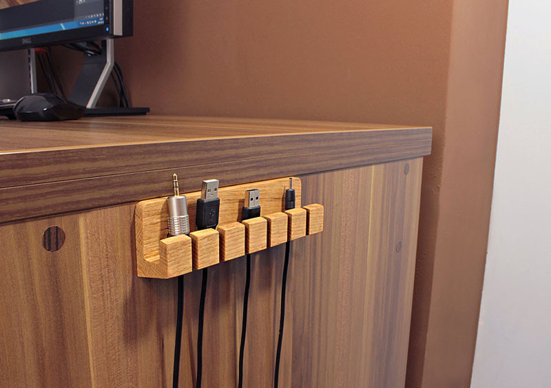 11 Holders That Stop Your Cables Falling Off Your Desk