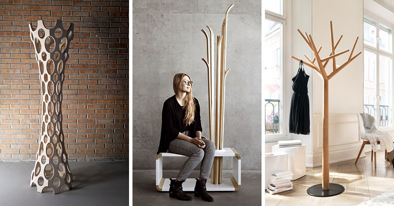 8 Pictures Of Creatively Designed Coat Stands