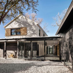 This home in Texas has a contemporary farmhouse feel to it