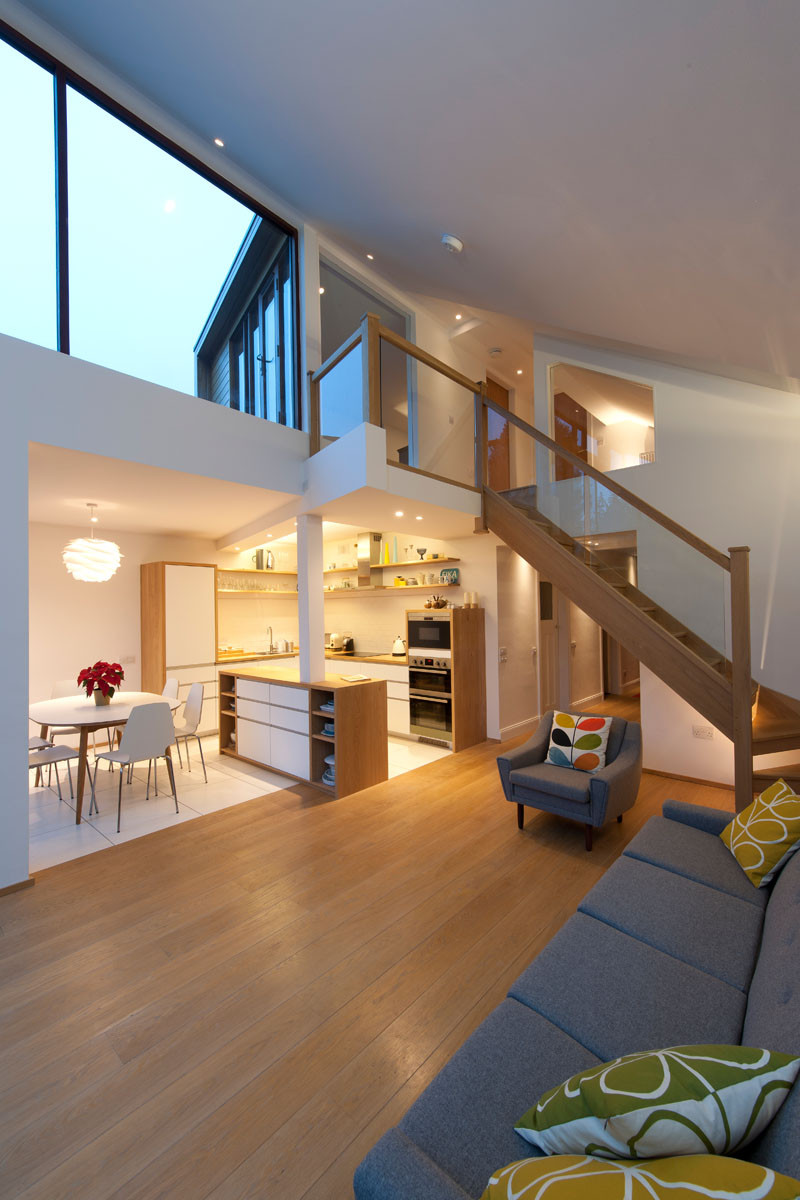 Solen Vinklar, a contemporary house extension, designed by David Blaikie Architects