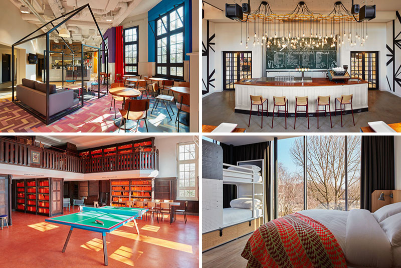 18 Pictures That Show Off The Newly Opened Generator Hostel In Amsterdam