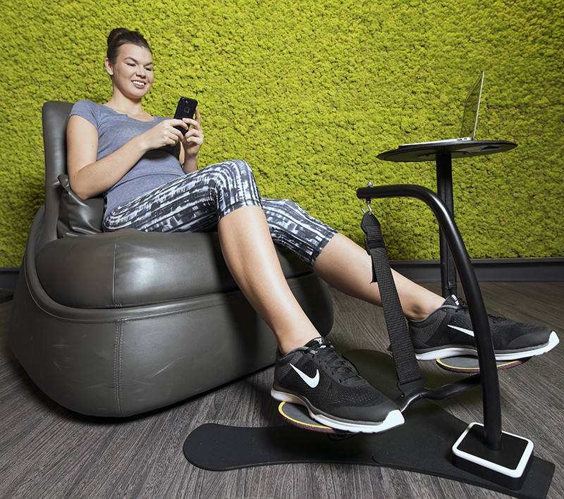Keep Your Feet Moving When You Are Sitting At Your Desk